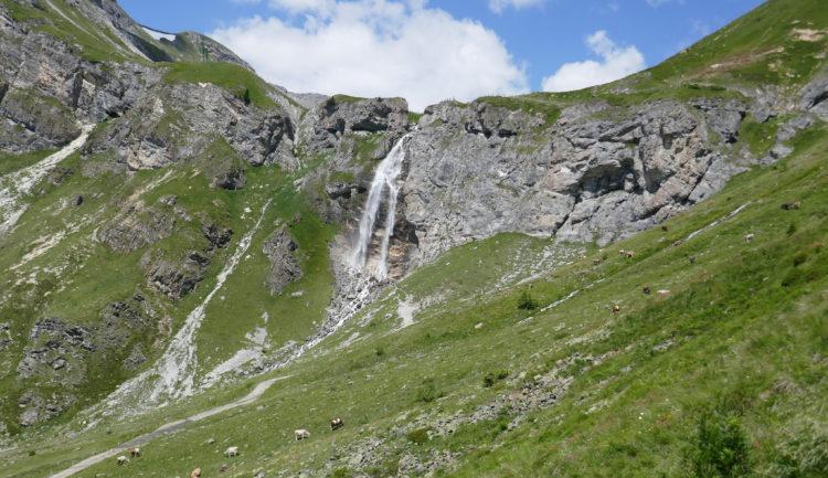 Wasserfall Schlinig